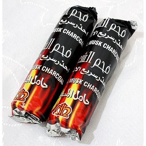 Venta de carbón! 20 tabletas de Carbones Hookah nargila para tazón Shisha fumar