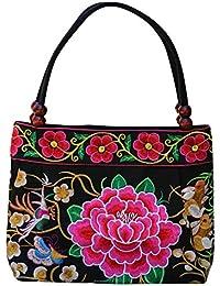 Vintage bestickt ethnischen Stil Bag Chic Clutch Handtasche Geldbörse