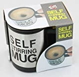 Self Stirring Mug with Lid for Coffee Te...