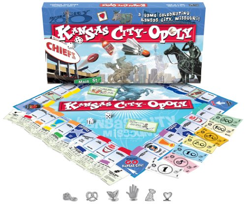 Kansas City-opoly Brettspiel ()