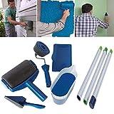 ARTISTORE Set di Rullo per Pittura multifunzione professionale Pennello per manico in ottone per fai...