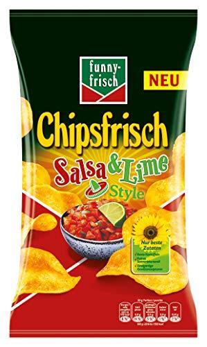 funny-frisch Chipsfrisch Salsa & Lime,  10er Pack (10 x 175 g)