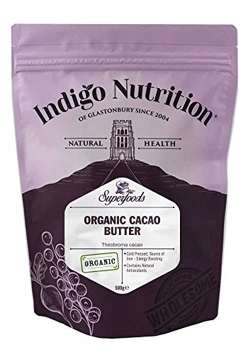 Indigo Herbs BIO Kakaobutter 500g | Organic Cacao Butter