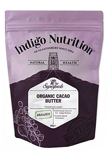 Indigo Herbs Bio Kakaobutter 500g -