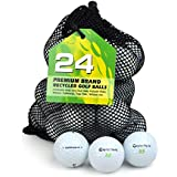 Second Chance Taylor Made Rocket Grade A Premium Lake Golf Balls (Pack of 24) - White
