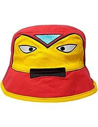 Boys Girls Superhero Design Summer Beach Sun Hat