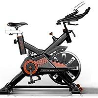 Preisvergleich für RISILAYS Profi Indoor Cycle Hometrainer,Armauflage,Pulsgurt Kompatibel-Speedbike Mit Flüsterleisem Riemenantrieb-Fahrrad Ergometer Bis150kg