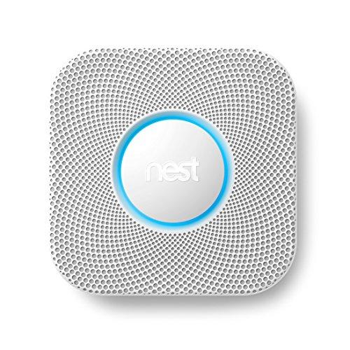Nest S2004BW, Sensore di fumo e monossido di carbonio a pile Nest Protect
