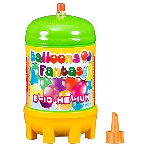 1 Flasche Helium Ballongas Einwegflasche 0,12 m3 (Kostenlose 1 Flasche)