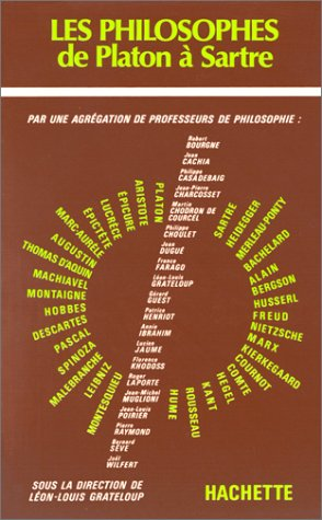 Les philosophes de Platon à Sartre