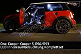 LED Innenraumbeleuchtung SET für MINI R50, R53, One, Cooper, Cooper-S - Cool-White