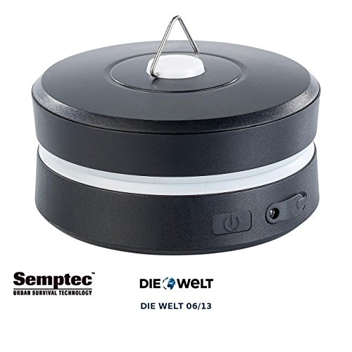 Semptec Urban Survival Technology Faltbare Dynamo Campingleuchte mit Kurbel Handy Notladefunktion
