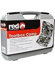 Red Cycling Products Comp - Caja de herramientas para bicicleta 2016 Herramientas de taller