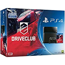 Sony PlayStation 4 Console [Black] with Driveclub Play Station4 (PS4)