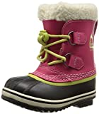 SOREL Yoot Pac TP BR RO Cold Weather Boot (Toddler/Little Kid/Big Kid), Bright Rose, 7 M US Big Kid