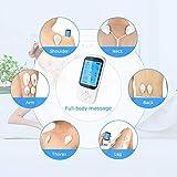 TENS Massage Gerät, Maxcio Elektrische Muskelstimulator für Entspannung, 16 Modi mit 20 Intensitätsstufen und 6 wiederverwendbare Elektrodenpads, USB Aufladbar, Timer Funktion - 3