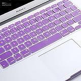 "Pashay Keyboard Skin For Apple Macbook Air/Pro/Retina 13.3"" & 15.4"" -Purple"