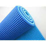 V Care Textured Pattern Soft Comfort Fitness Exercise Anti Skid, Non Slip Yoga Thick Mat for Men & Women with Bag