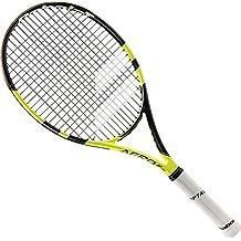 Babolat Aero Junior 26 Raquetas de Tenis, Unisex Niños, Negro / Amarillo, 0