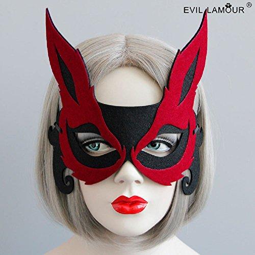 Lavender Fuchs-halbes Gesicht erwachsenes (Für Fox Kostüm Make Up Kinder)