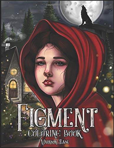 Figment Coloring Book: Nostalgic Fairy Tales, Fables, and Nursery Rhymes for Every Age