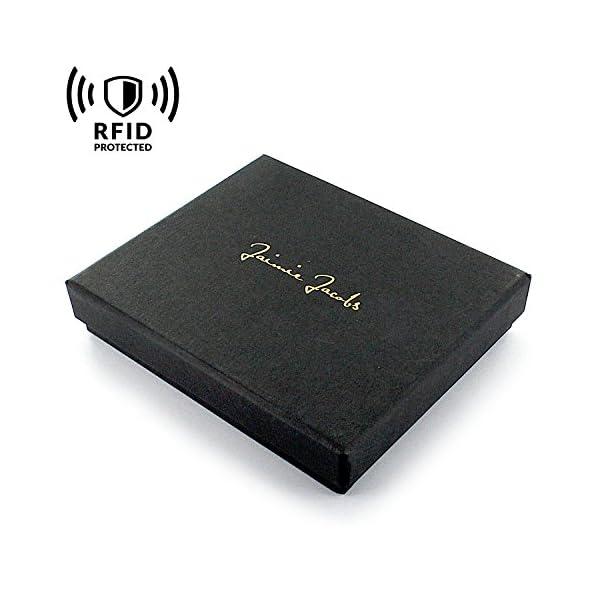 comprare popolare 8cf38 a38c1 Jaimie Jacobs Portafoglio Magico con scompartimento per Monete e  RFID-Blocker Magic Wallet Flap Boy - L'Originale - di Pelle da Uomo
