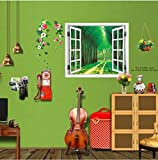 New 2016 New DIY Wall Stickers 3D Beauti...