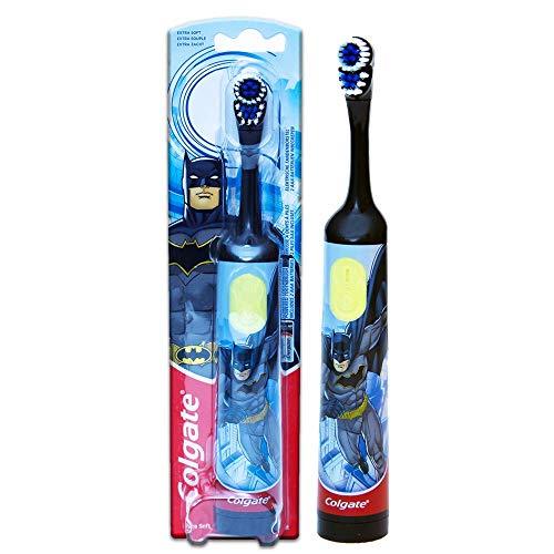 Colgate motion spiderman spazzolino a batteria per bambini, colori e modelli assortiti