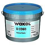 Wakol D 3360 VersaTack, 14kg, Universal Dispersionsklebstoff für die Verlegung von Linoleum, Kautschukbelägen, textilen Bodenbelägen, Nadelvliesbelägen sowie CV und PVC Belägen, universell einsetzbar