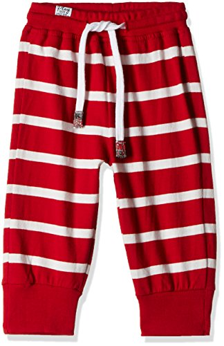 Little Kangaroos Baby Girls' Tights (PL-11488_Red_3 months)