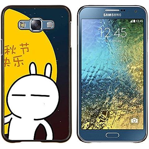 BearCase / Shell posteriore duro della custodia in plastica di copertura di protezione /// Samsung Galaxy E7 E700 /// Natura Lago Mist