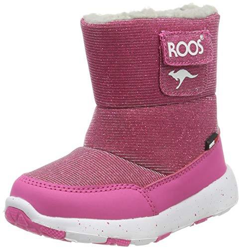 KangaROOS Unisex Baby Snowball Stiefel, Violett (Daisy Pink 6085), 23 EU