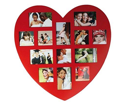 Preis am Stiel Bilderrahmen Herz Rot   Liebe   Familie   Deko   Wohnen   Wohnaccessoires   Haushalt   Liebe   Wand   Kind   Geschenk   Glas   Bayby (Herz-liebe-marmor Rote)