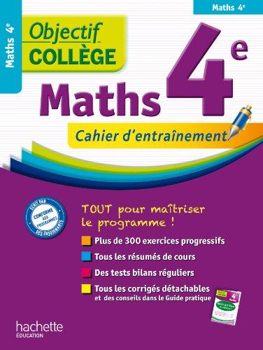 Objectif collège - Maths 4e par Rousseau