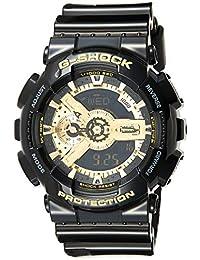 Casio Men's Analogue/Digital Quartz Watch with Resin Strap GA-110GB-1AER