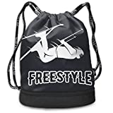 Rtytgfdw Multi-Functional Unisex Freestyle Skier Shopping Bag