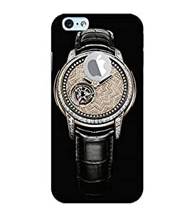 Print Masti Designer Back Case Cover for Apple iPhone 6S (Logo View Window Case) (Time Precious teller dead own)
