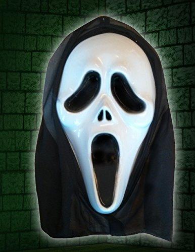 Scream Maske Halloween-Kostüm für Herren Scary Movie Face Masks Fancy Dress