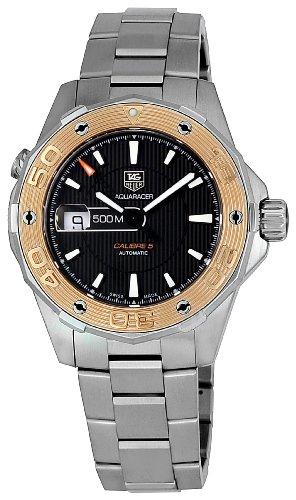 TAG-Heuer-Herren-WAJ2150BA0870-Aquaracer-Black-Dial-Uhr