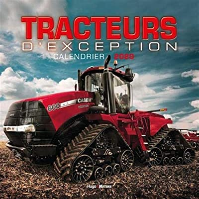 Calendrier mural Tracteurs d'exception 2020