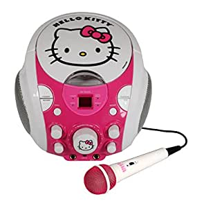 Hello Kitty - 68909N-INT - Boombox karaoké avec micro