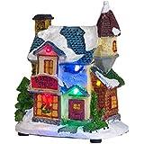 Décoration Boulangerie pour Village de Noël Lumineux par Lights4fun
