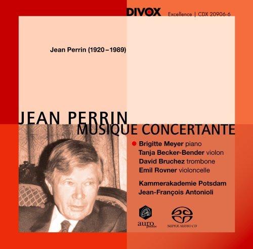 Perrin: Musique Concertante by Brigitte Meyer (2011-01-25)