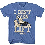 American Classics Popeye el carácter marinero cómico sin retro liftin camiseta para hombre X-Grande Azul