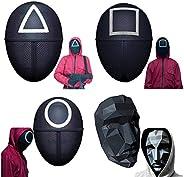 AioTio Squid Game Mask,Halloween Cosplay Mask 2021 Korean Movies Squid Game