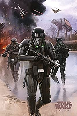 Posters: Star Wars Poster - Rogue One, Death Trooper Beach (91 x 61 cm)