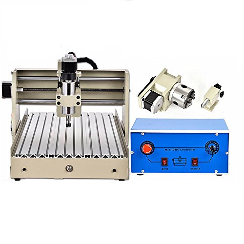 4 Ejes 3040 CNC Router Engraver Máquina grabado Engraving