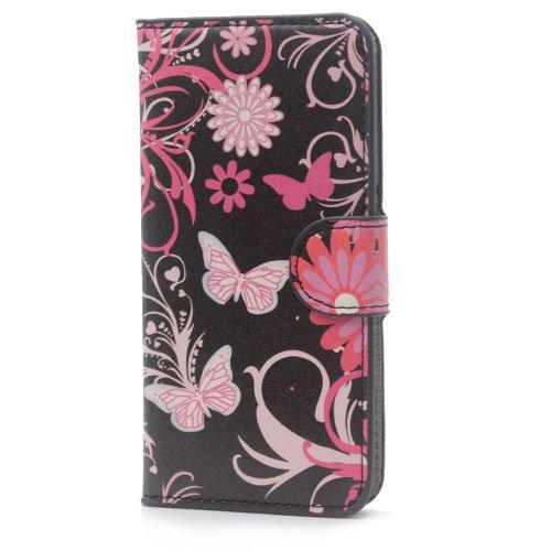 iPhone 6 6S Coque,COOLKE Flip Coque Fashion Painted Pattern Cover de Etui Housse de Protection Étui à rabat Case pour Apple iPhone 6 6S (4.7 inches) - 010 005