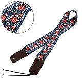 UBETA Hootenanny Style guitar straps ukulele straps … (color-12)