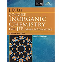 Wiley's J.D. Lee Concise Inorganic Chemistry for JEE (Main & Advanced), 4ed, 2020